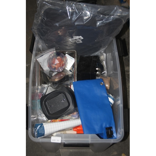 221 - GRADE U- BOX TO CONTAIN LARGE AMOUNT OF ASSORTED ITEMS (IMAGE DEPICTS STOCK)...