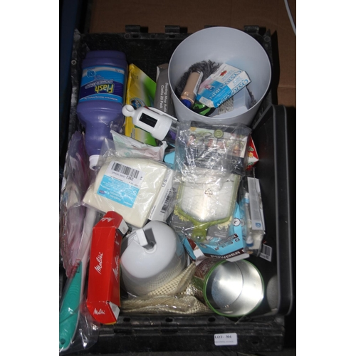 304 - GRADE U- BOXE TO CONTAIN LARGE AMOUNT ASSORTED ITEMS (IMAGE DEPICTS STOCK)...