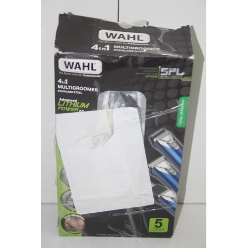 349 - GRADE U- BOXED WAHL PRECISION 4-IN-1 MULTI GROOMER STAINLESS STEEL RRP-£89.99...