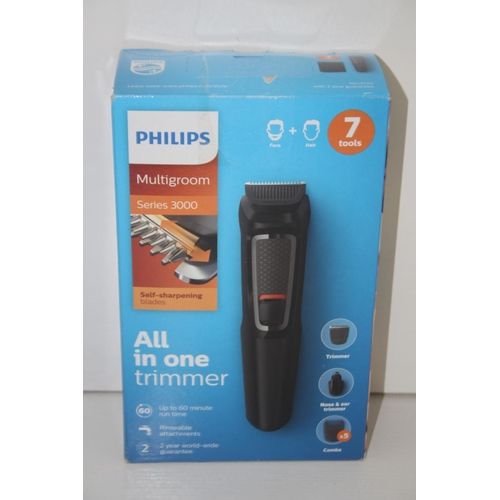 363 - GRADE U- BOXED PHILIPS MULTIGROOM SERIES 3000 ALL IN ONE TRIMMER...