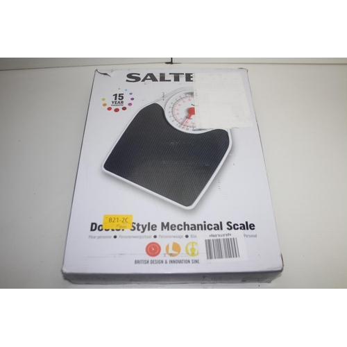 463 - GRADE U- BOXED SALTER DOCTOR STYLE MECHANICAL SCALE RRP-£30...