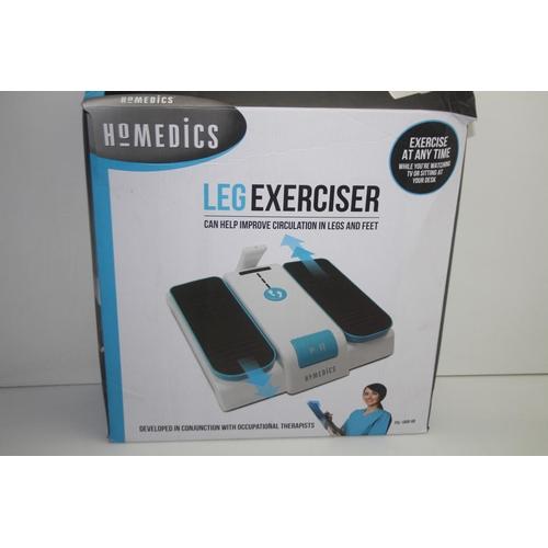 596 - GRADE U - BOXED HOMEDICS LEG MASSAGER PSL - 1000 - GB RRP-£95...