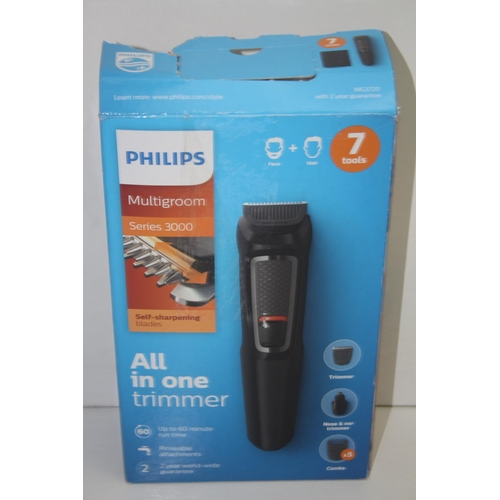 767 - GRADE U- BOXED PHILIPS MULTIGROOM SERIES 3000 ALL IN ONE TRIMMER...