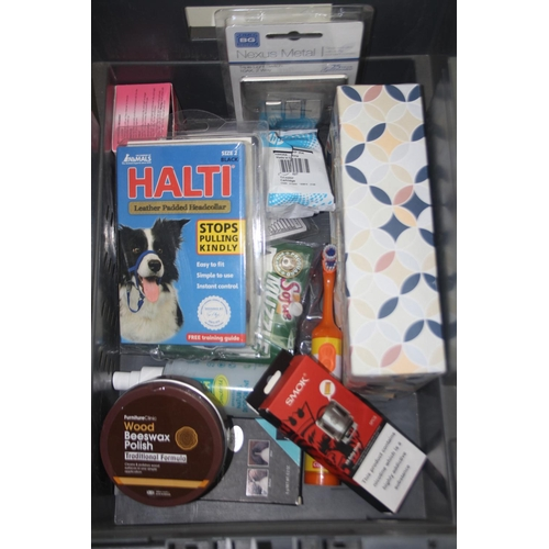 802 - GRADE U- LARGE AMOUNT OF ASSORTED ITEMS (IMAGE DEPICTS STOCK)...