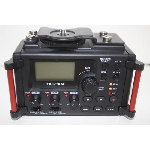 816 - GRADE U- UNBOXED TASCAM LINEAR PCM RECORDER DR-60D MK11...