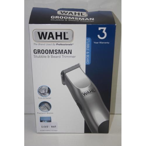 846 - GRADE U- BOXED WAHL GROOMSMAN STUBBLE & BEARD TRIMMER...