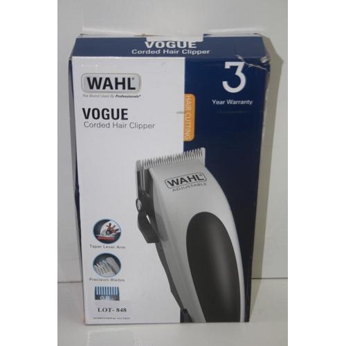 848 - GRADE U- BOXED WAHL VOGUE CORDED HAIR CLIPPER...