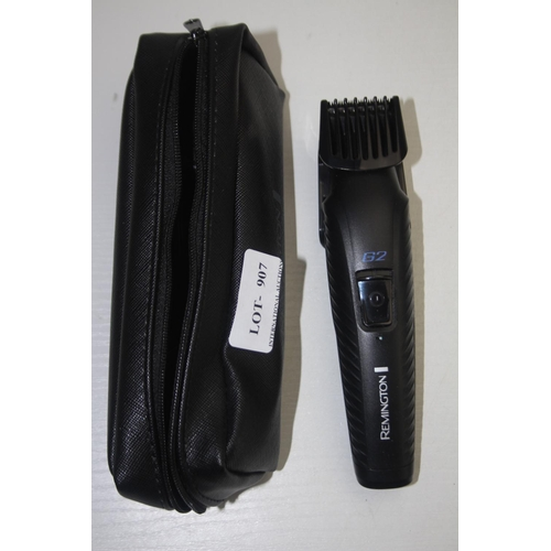 907 - GRADE U- UNBOXED REMINGTON G2 BEARD TRIMMER...