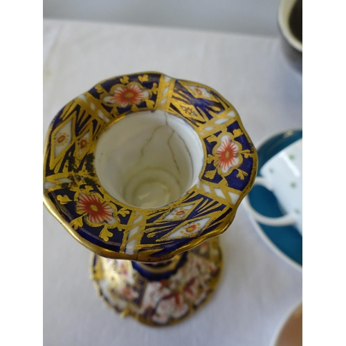 26 - Susie Cooper cups & saucers together with varios ceramics to include Poole vase, Carlton Ware studio...