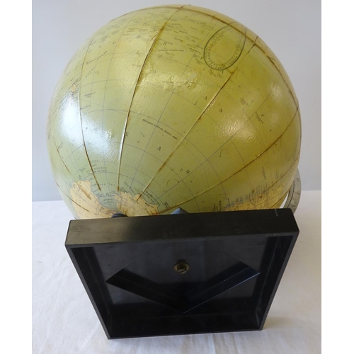 28 - A Phillips challenge globe 45cm tall (worn).