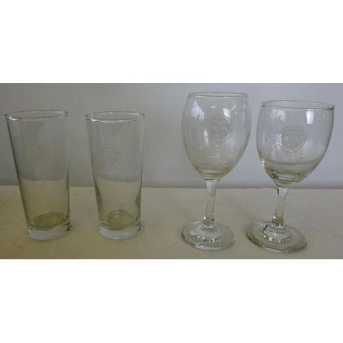 41 - A quantity of drinking glasses etc.