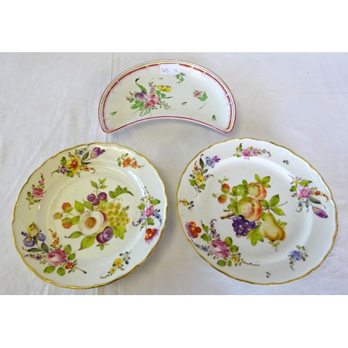 45 - An Epiag Royal porcelain tea service to include ten cups saucers and side plates, two dessert plate,...