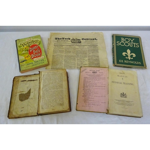 46 - A quantity of misc. books to include Boy Scouts, Fables etc.
