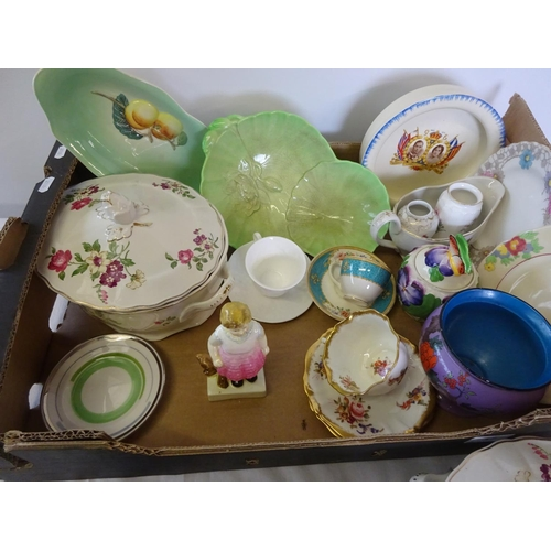 57 - Various ceramics to include Shelley, Mintons, Carltonware etc.