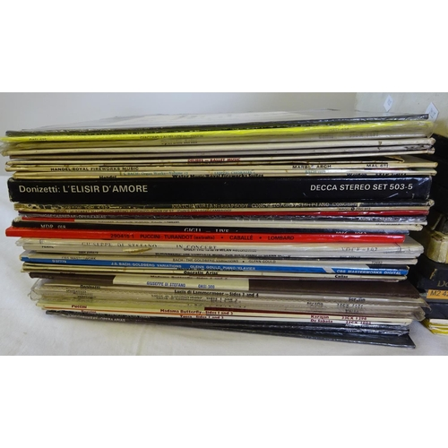 58 - A quantity of various classical LP's (2)
