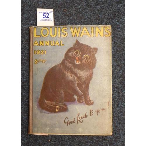 52 - Louis Wains Annual 1921.