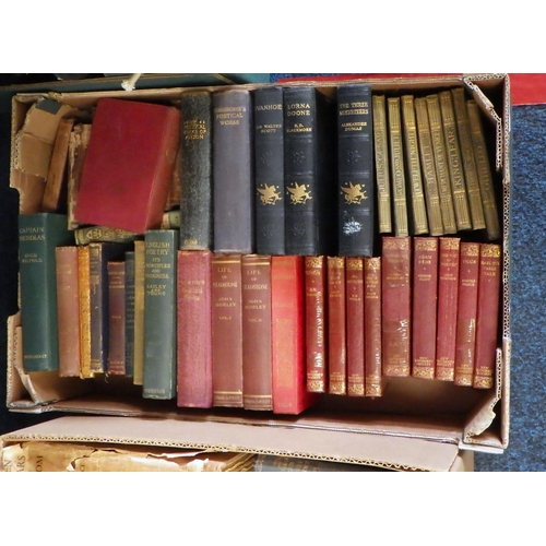 53 - Three boxes of various books to include Poetry etc (3).