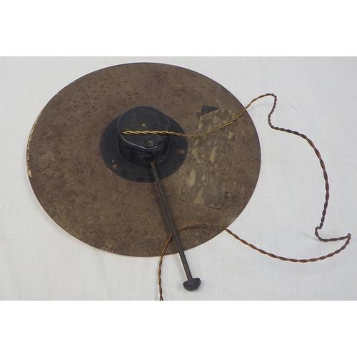 7 - A Russells Ales electric advertising clock 30cm diameter.