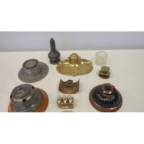 8 - A group of various ink wells.