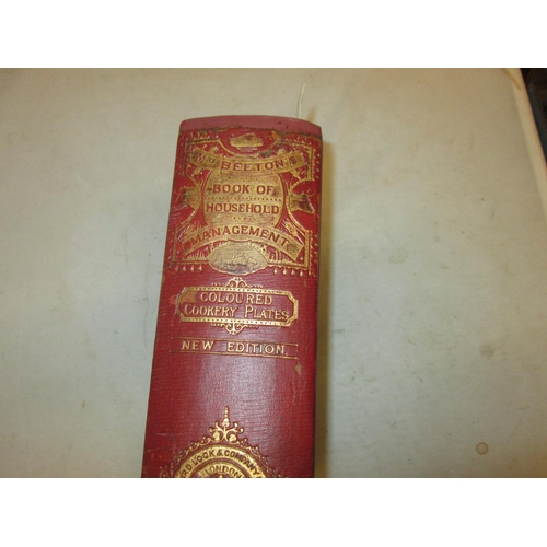 37 - Hardback rebound in maroon red leather, old spine relaid, text block in exceptionally good condition...