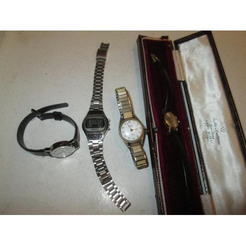 46 - Vintage and modern wristwatches : Omac, Avia, Lorus & Tissot...