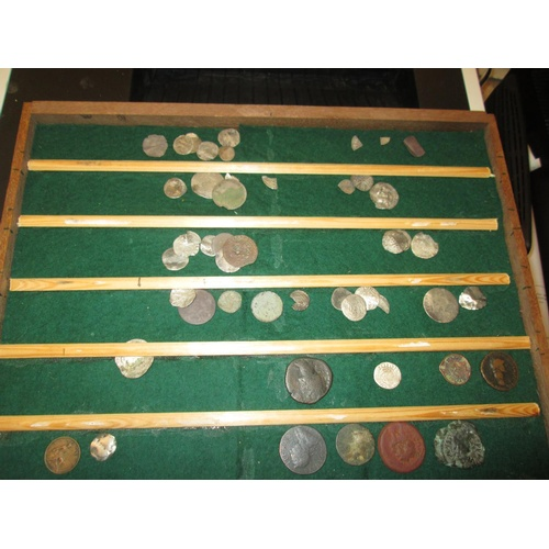 31 - Bag of hammered coins, some detectorist finds, condition varies...