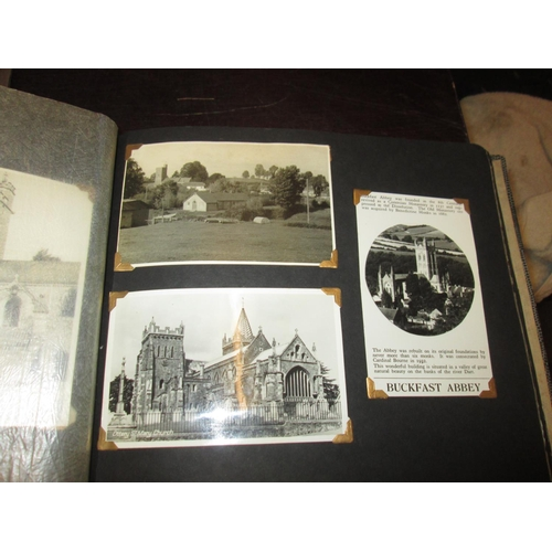 34 - Paper ephemera including postcards, some local interest, depicting UK & overseas holiday haunts in t...