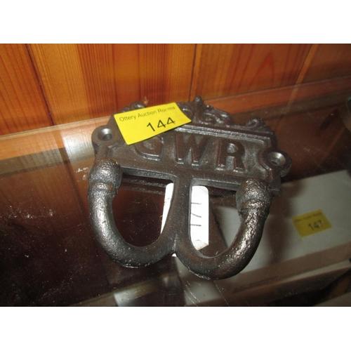 237 - GWR coat rack...