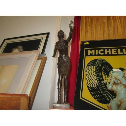 183 - Art Deco STYLE figure of a dancer...