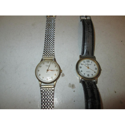 158 - 2 x wristwatches Citron & Rone...
