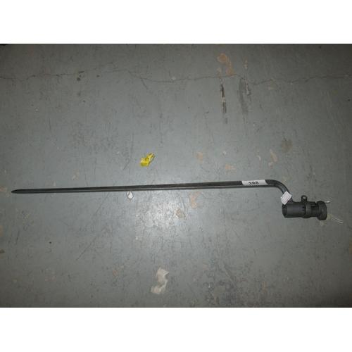 288 - Early 20th century triangular socket bayonet...