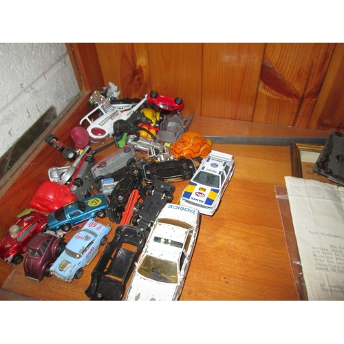 289 - Assorted playworn toy cars...