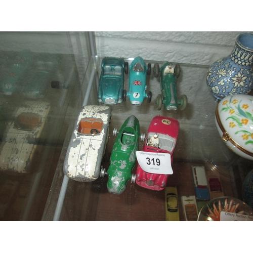 319 - 6 x die cast toy cars : Corgi...