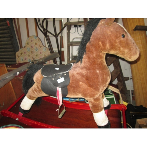 437 - Childs rocking horse...