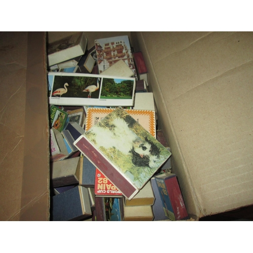 490 - 2 x boxes of matchbox labels...