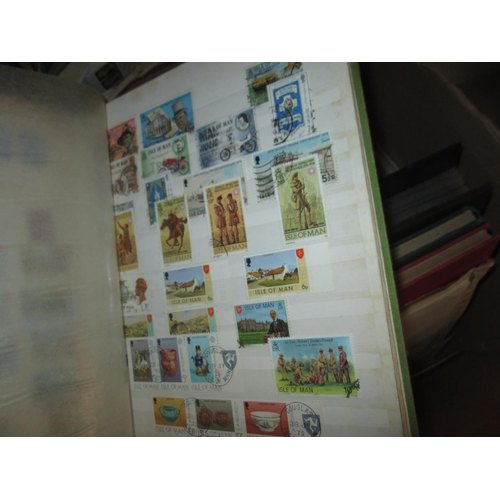 578 - Stamps : kiloware, schoolboy stamp albums, loose and mounted from the early - mid 20th century etc....