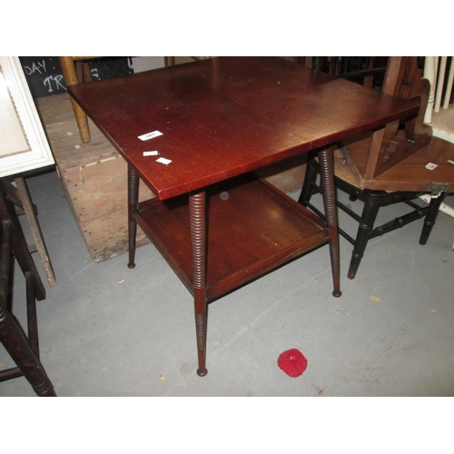 583 - Arts and Crafts Liberty type occasional table (William Birch interest)...
