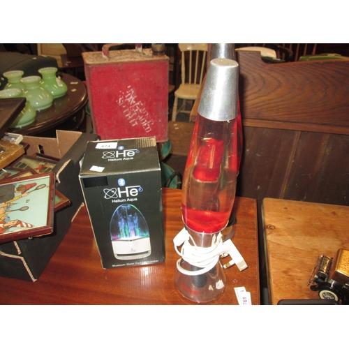674 - 2 x lava lamps...