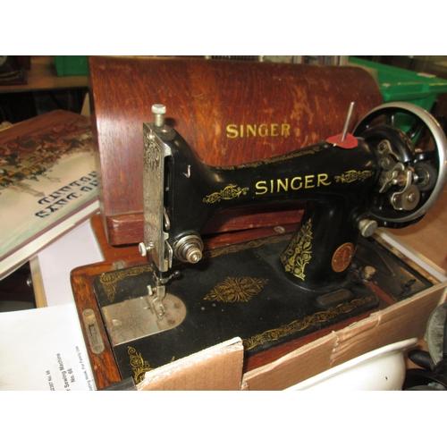 703 - Singer sewing machine...