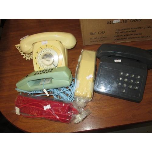 708 - Assorted telephones...