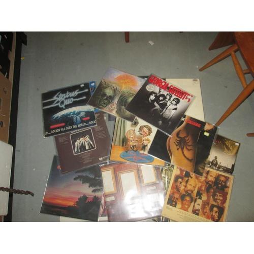 210 - 20 x Vinyl record albums : 1980's commercial pop...