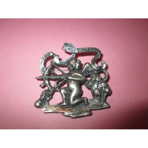 35 - Vintage silver metal Sagittarius brooch...