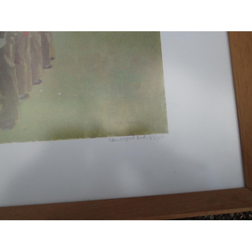 19 - 3 x military interest prints : 2 x Ltd Edition Ken Howard and one other signed by Lionel Edwards