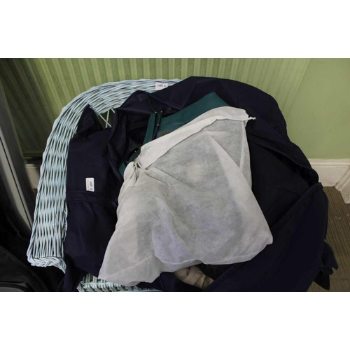 3 - A BAG CONTAINING A LARGE SELECTION OF LADY'S HANDBAGS VARIOUS <br>...