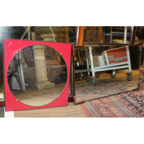 52 - A SELECTION OF USEFUL & DECORATIVE WALL MIRRORS <br>...