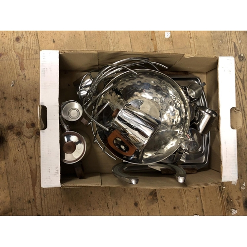 8 - Box plated ware...