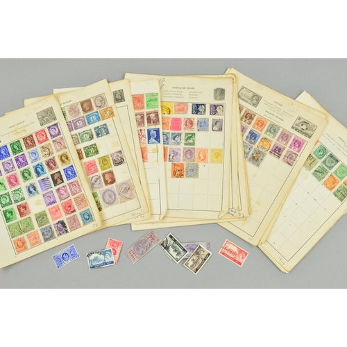 12 - A SMALL QUANTITY OF STAMPS...