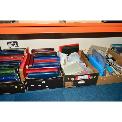2 - A VERY LARGE QUANTITY OF STAMPS, in albums and loose with Mint New issues including Great Britain, N...