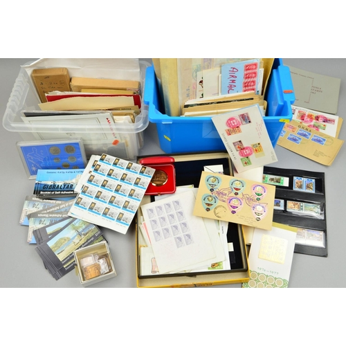 3 - VARIOUS MAINLY MODERN STAMPS AND COVERS, including Tonga (two boxes)...