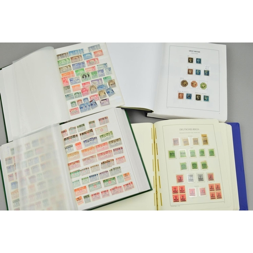 48 - A LARGE ACCUMULATION OF STAMPS, in seven stockbooks with Mint and used British Empire, Germany with ...
